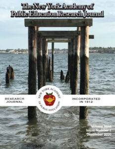 NYAPE Research Journal 2020 - Volume 9 Cover